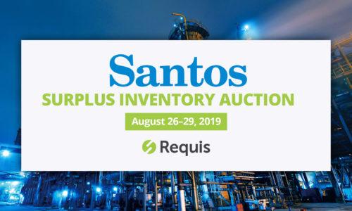 Santos inventory auction Aug 26 - 29 2019